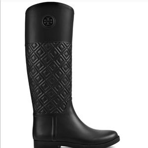 Marion Quilted rain boots
